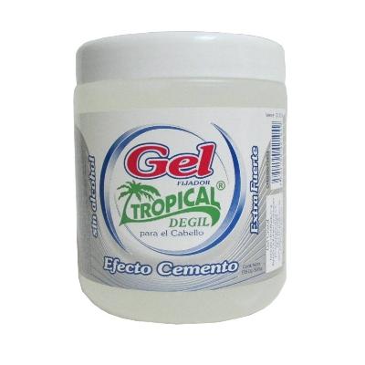 gel fijador tropical efecto cemento 500 g