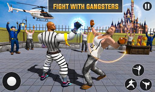 Grand Ring Battle: Fight Prisoner Karate Fighting android2mod screenshots 2