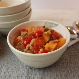 Moroccan Vegetable Quinoa Stew