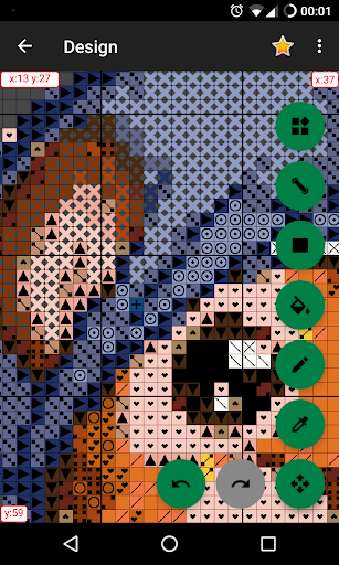 CrossStitch Editor screenshot