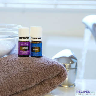Sore Muscle Soak with Essential Oils.