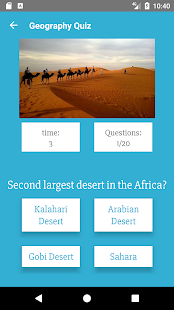 World Geography - Quiz Game - náhled