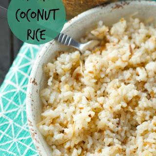 Colombian Coconut Rice (Arroz Con Coco).