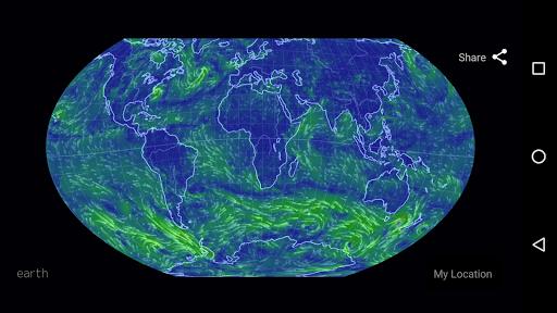 Wind Map ud83cudf2a Hurricane Tracker (3D Globe & Alerts) 2.2.9 Screenshots 8