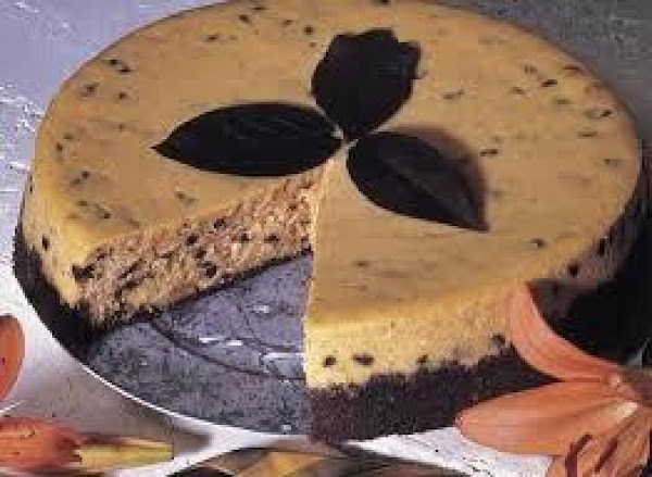 Chocolate Chip Pumpkin Cheesecake Recipe