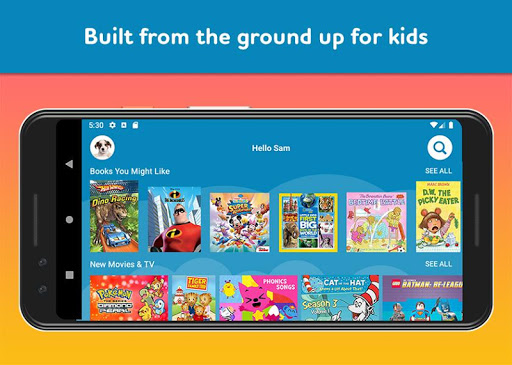 Amazon FreeTime Unlimited: Kids Shows, Games, More 2.0.0.203376 screenshots 3