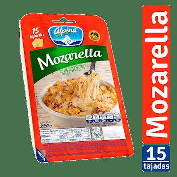 QUESO ALPINA MOZARELLA