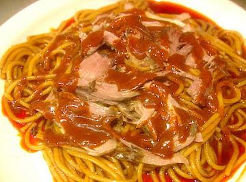 The Neely's Bbq Spaghetti Recipe