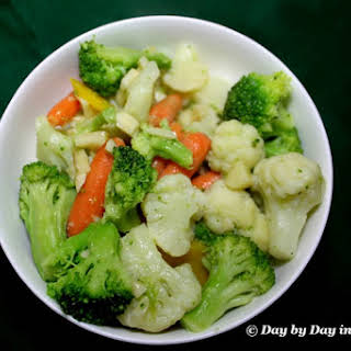 Garlic Butter Sauce Vegetables Recipes.