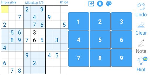 Sudoku 2.3.3.1 screenshots 5