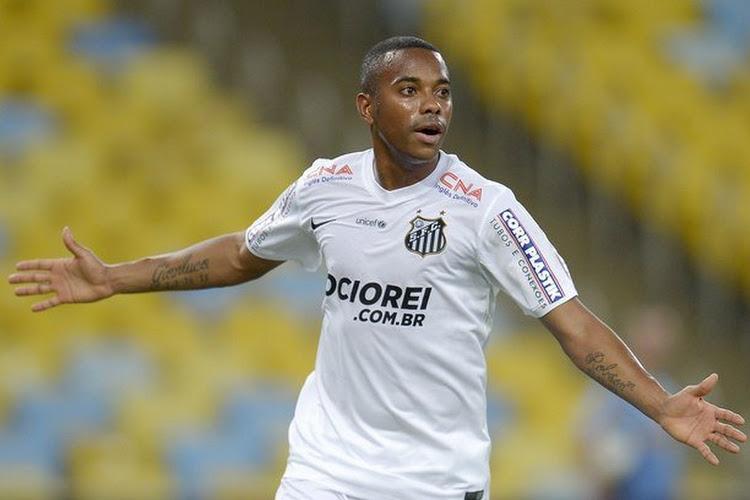 C'est déjà fini entre Robinho et Santos !