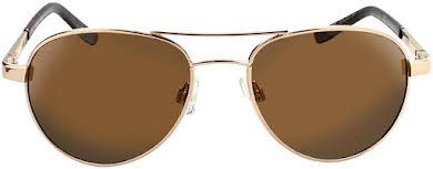 Optic Nerve ONE Siren Polarized Sunglasses: Gold with Polarized Brown Lens alternate image 1