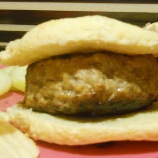 Porkapple Burgers