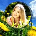 Spring Beauty Photo Frames icon