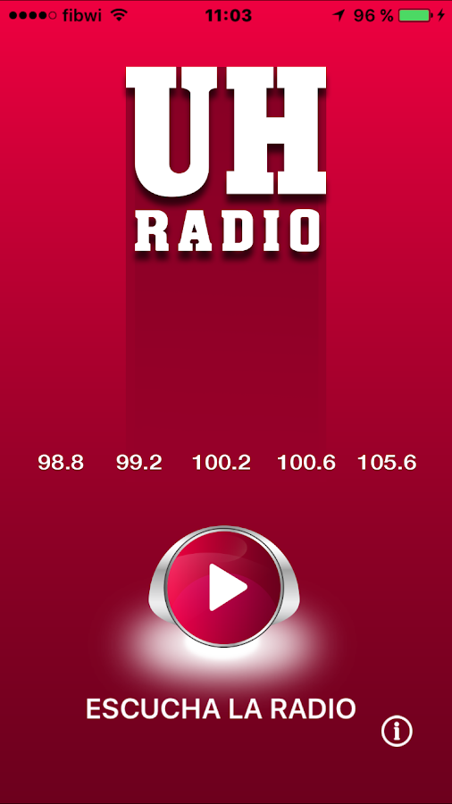 UH Radio- screenshot