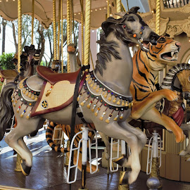 Irvine Spectrum Merry Go Round by Monroe Phillips - Artistic Objects Still Life