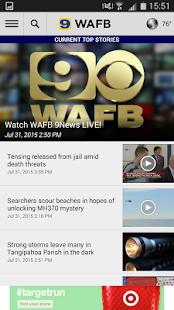 WAFB Local News- screenshot thumbnail