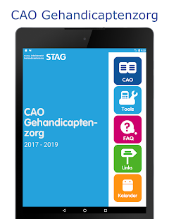 CAO Gehandicaptenzorg- screenshot thumbnail