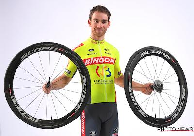 """Voor Sean De Bie is er eigenlijk weinig veranderd: """"Besef dat we als wielrenners elke dag in soort quarantaine leven"""""""