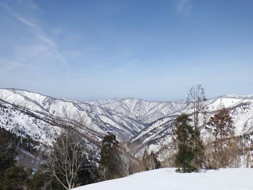 谷奥に安蔵山