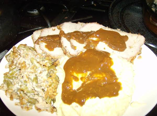 Oven Roasted Pork Loin Roast