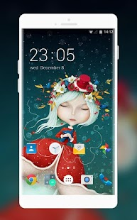 Cute Girl Wallpaper for Intex Aqua Star II HD - náhled