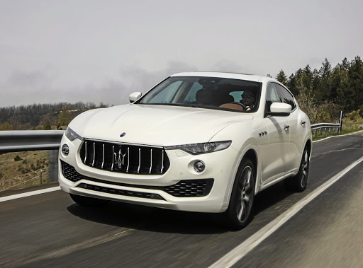 Maserati's first electrified car will be the Levante SUV when it is facelifted in 2019. Picture: maserati