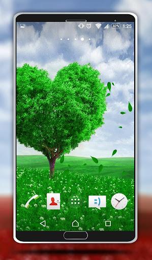 玩個人化App|愛の木 - ライブ壁紙免費|APP試玩