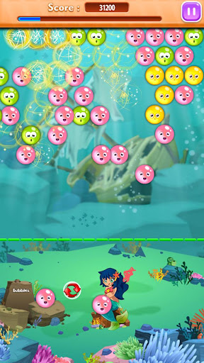 Bubble seaworld. Shooter game.
