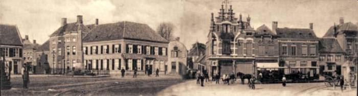 Photo: 1905 panorama markt