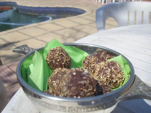 Quinoa Coconut Truffles