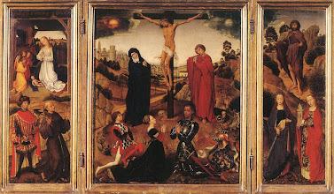 Photo: Sforza Triptych, c. 1460