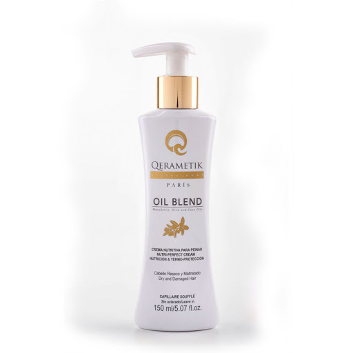 crema para peinar qerametik oil blend 150ml