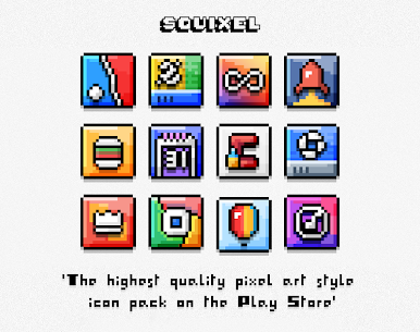 Squixel – Icon Pack v1.2 [Patched] 1