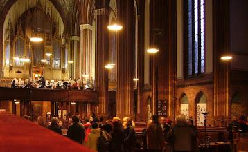 Photo: Orchesterprobe Paulskirche Schwerin Geistliche Musik