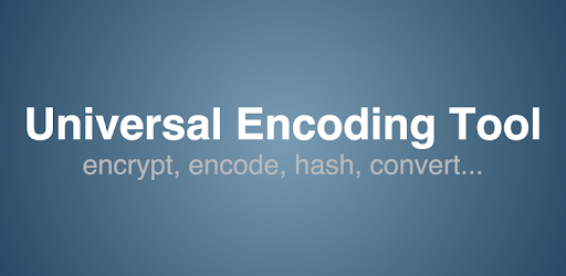 Universal Encoding Tool - Apps on Google Play