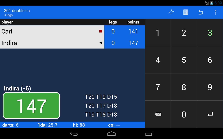 darts cricket game
