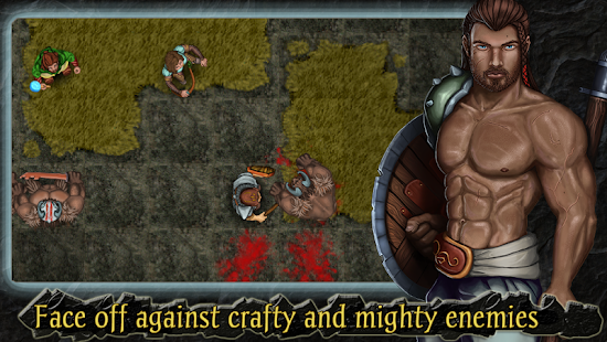 Heroes of Steel RPG Screenshot 1
