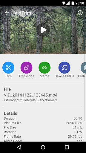 VidTrim  Video Trimmer  screenshot 7