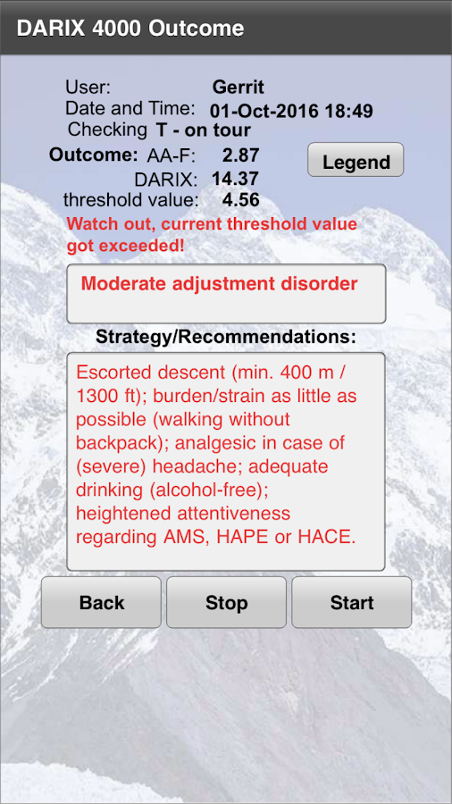 Stop Acute Mountain Sickness- screenshot