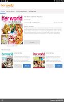 Screenshot of Her World Cookbook Malaysia