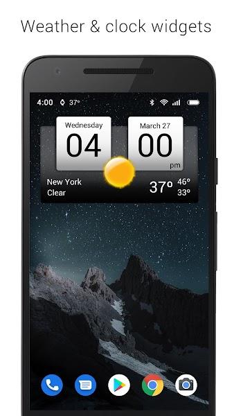 Digital clock & weather v5.40.1 [Premium] 1