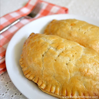 Vegetarian Sausage and Egg Hand Pies.