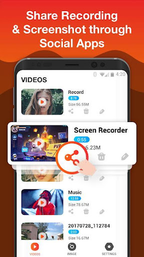 Screen Recorder For Game, Video Call, Online Video 1.2.9 screenshots 4