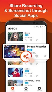 Screen Recorder for Game, Video Call, Screenshots 4