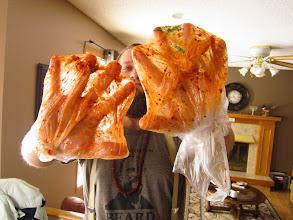 Photo: Super high class mixing gloves