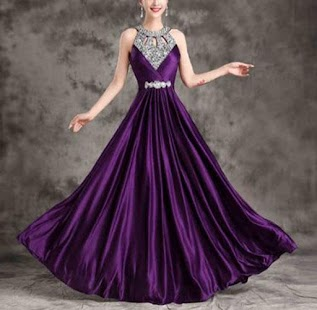 Long dress design ideas - náhled
