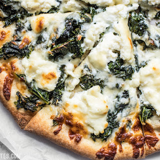 Garlicky Kale and Ricotta Pizza.