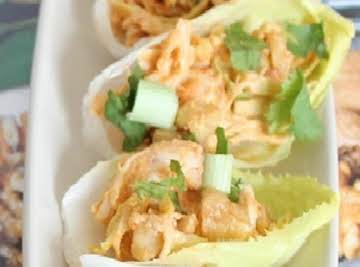 Curried Chicken Salad Stuffed Endives