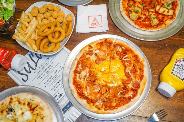 初宅-大安美食餐廳推薦-臭豆腐Pizza能吃嘛!?不傷荷包的歡樂聚餐首選